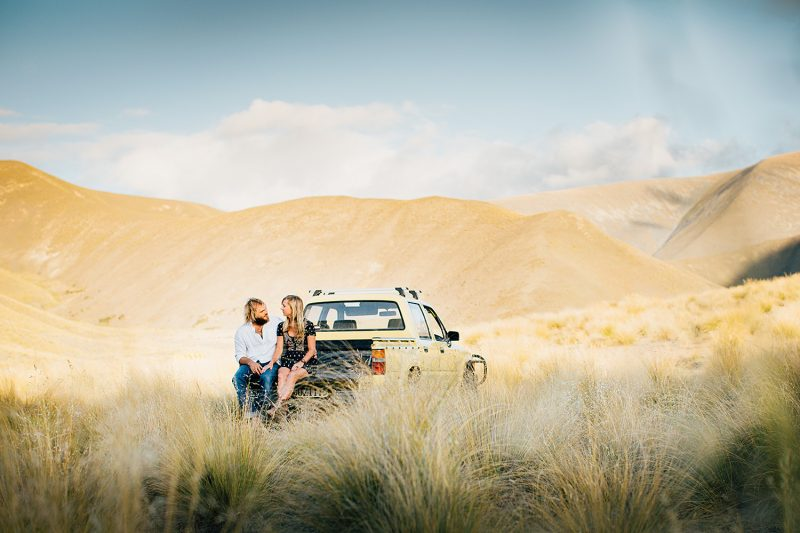 New Zealand Engagement Photography