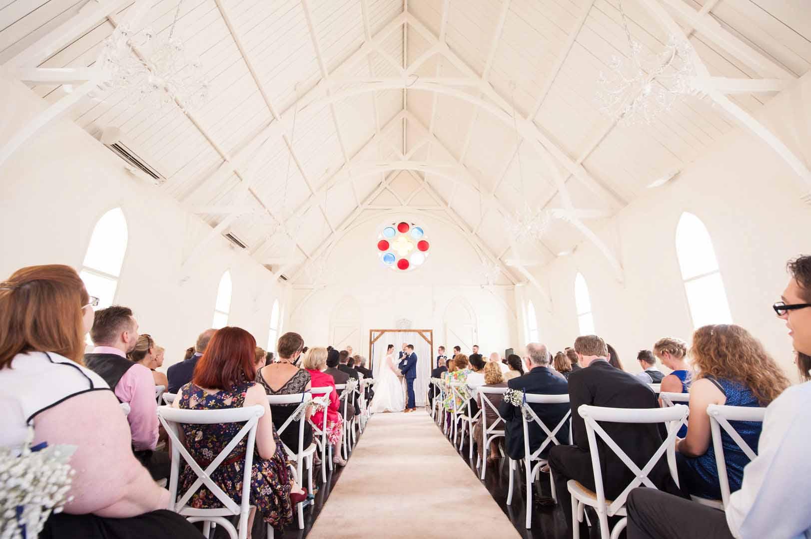 High Church Brisbane venue wedding photography