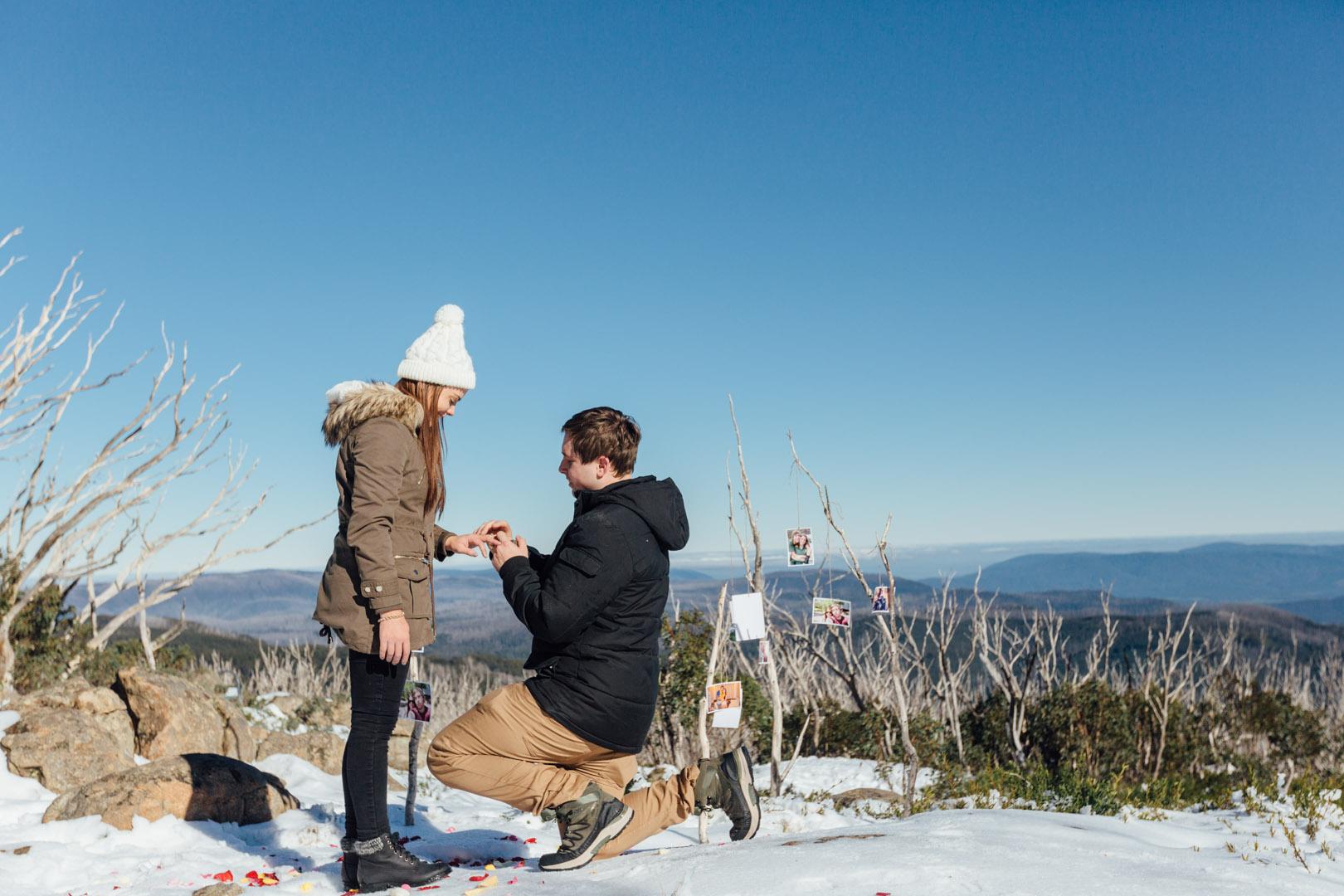 engagement photo shoot victoria proposal