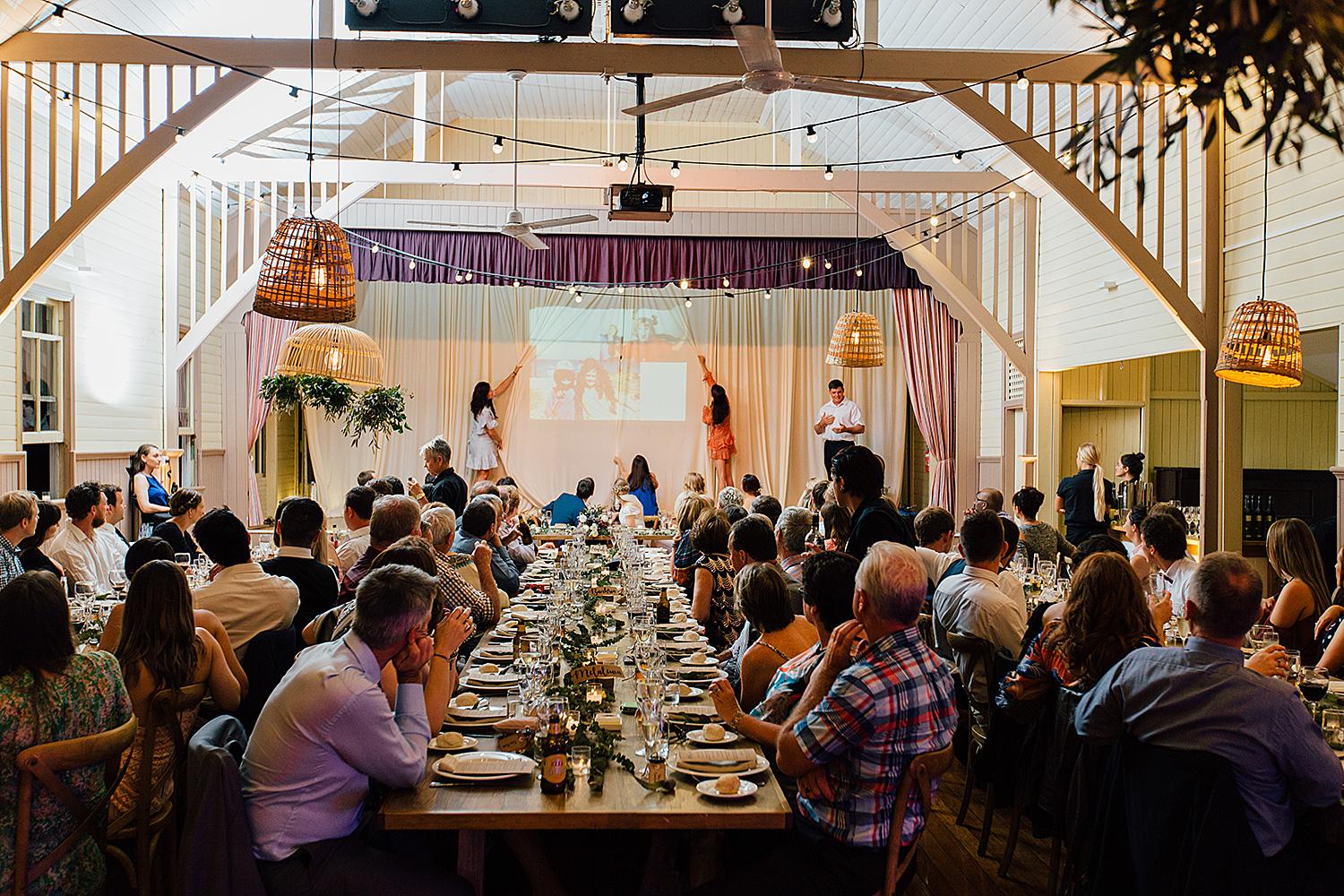 sunshine coast wedding photography community hall
