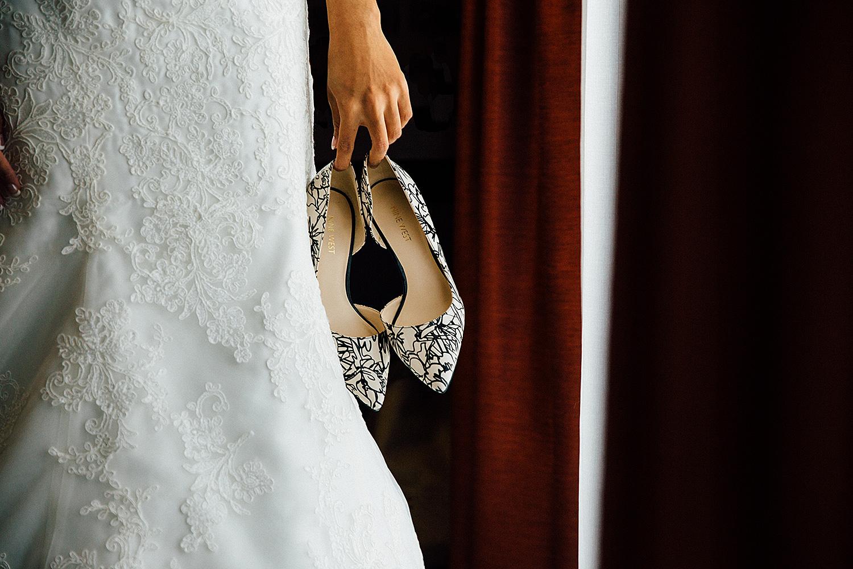 Queenstown Winter Wedding Photography wedding shoes