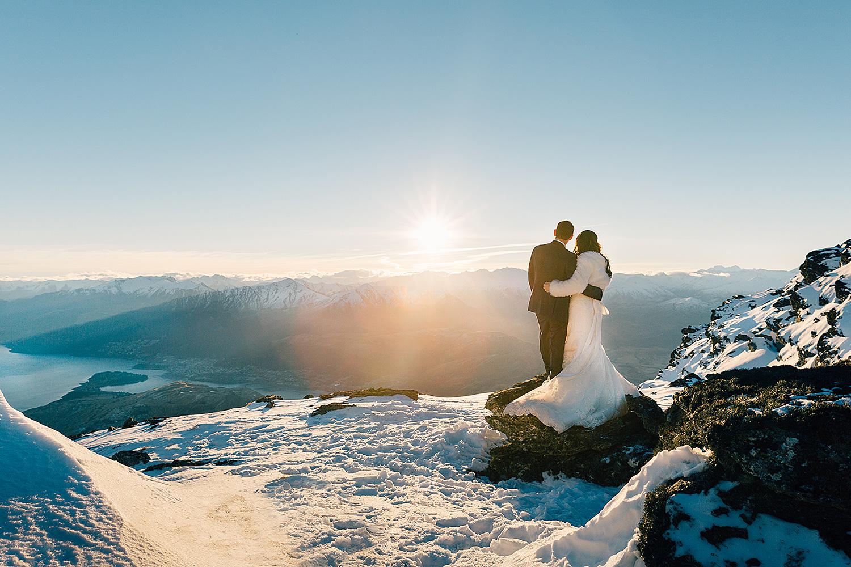 Queenstown Snow Wedding Photography