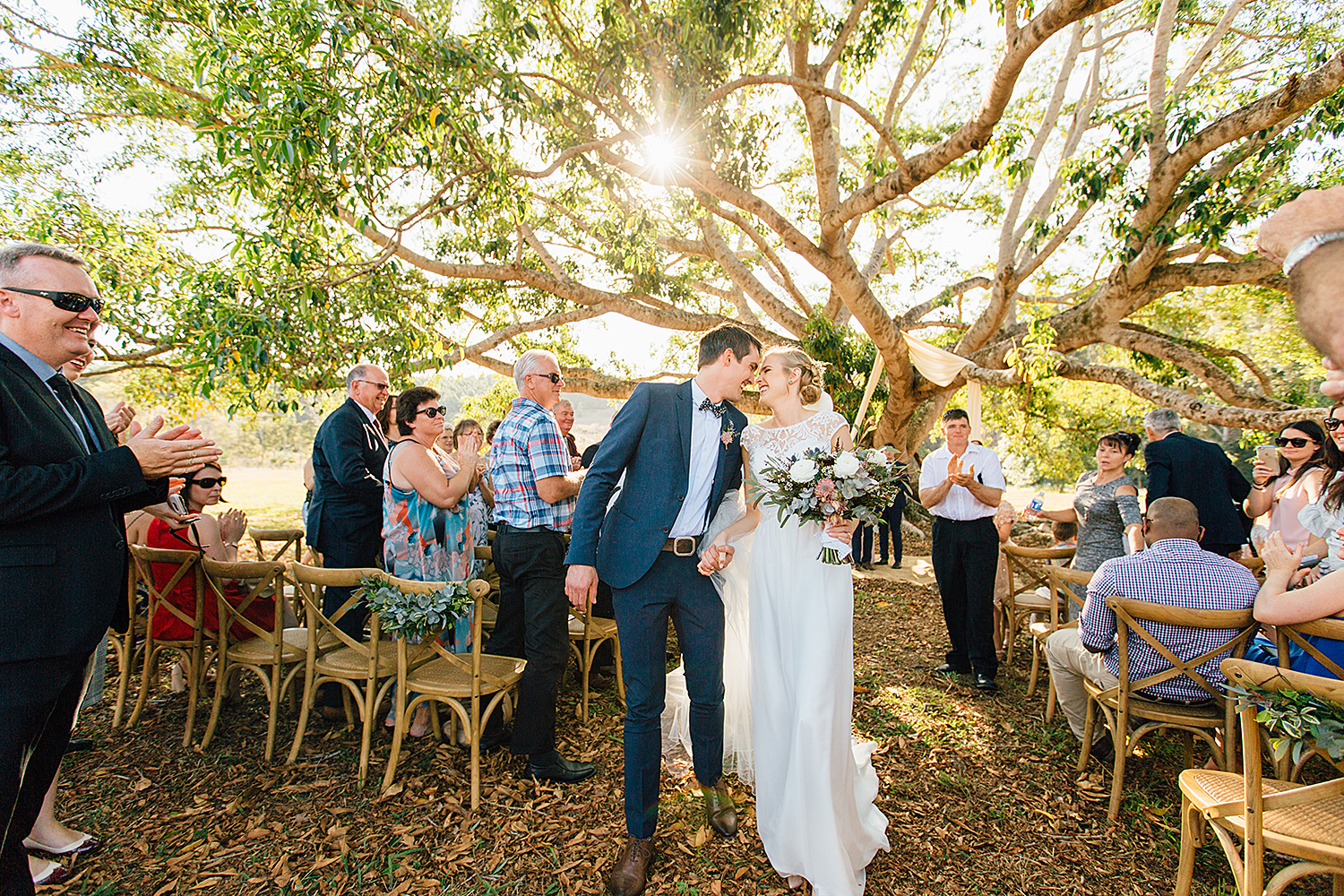 sunshine coast wedding photography intimate couple