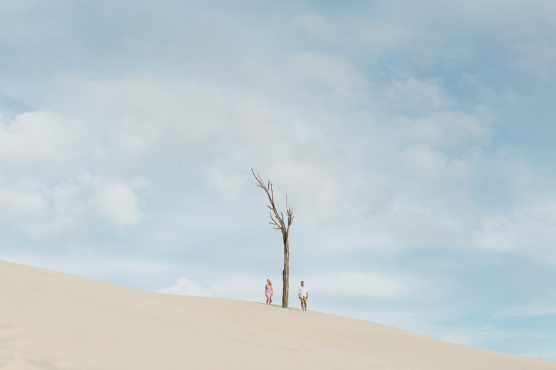 Moreton island engagement photo shoot