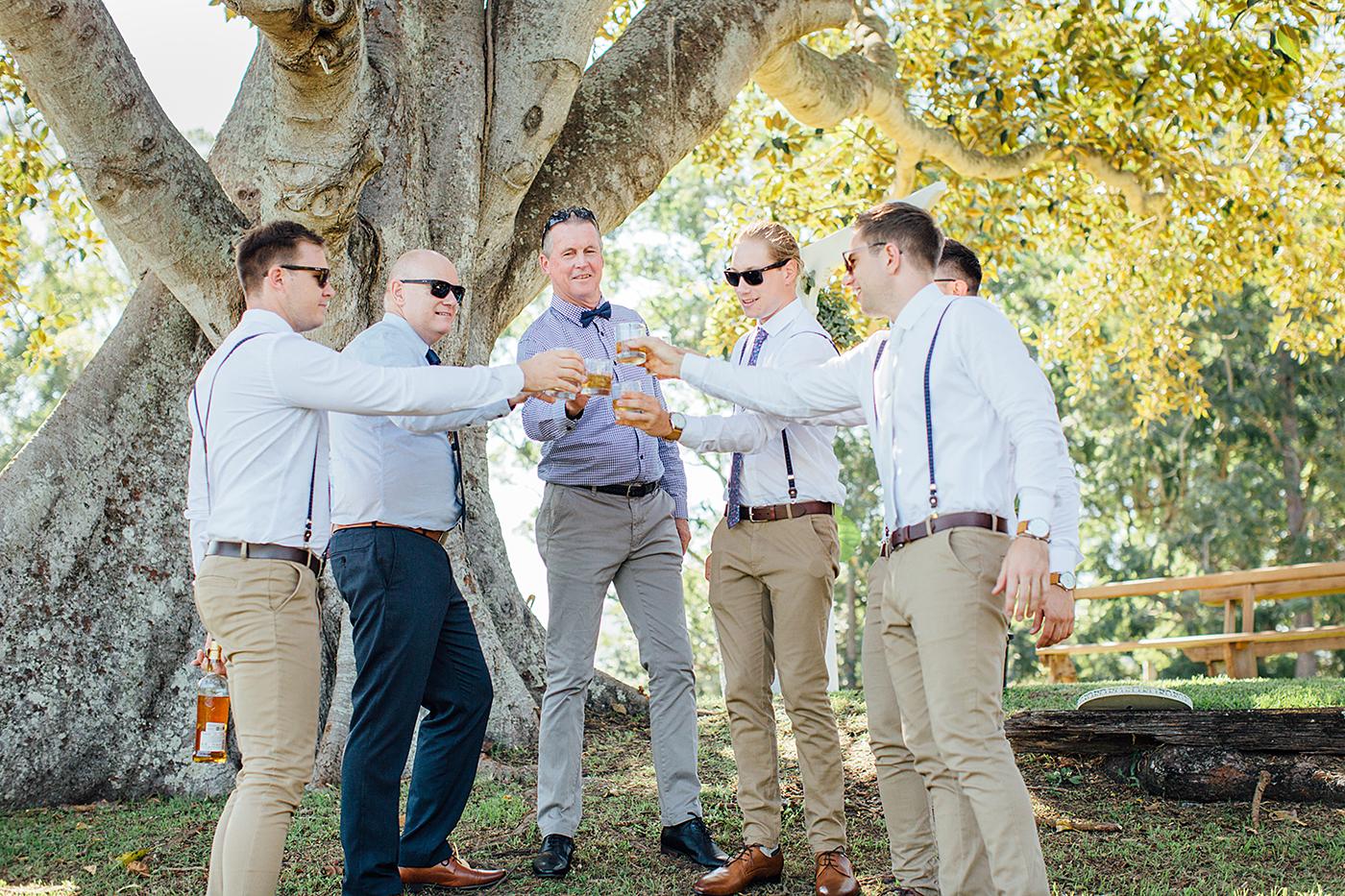 Kenilworth Homestead Wedding Groomsmen