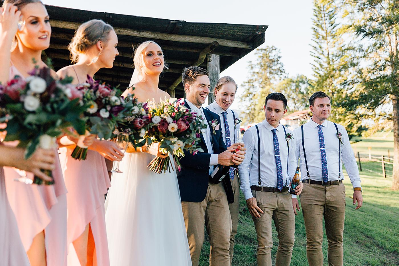 Kenilworth Homestead Wedding Bridal Party