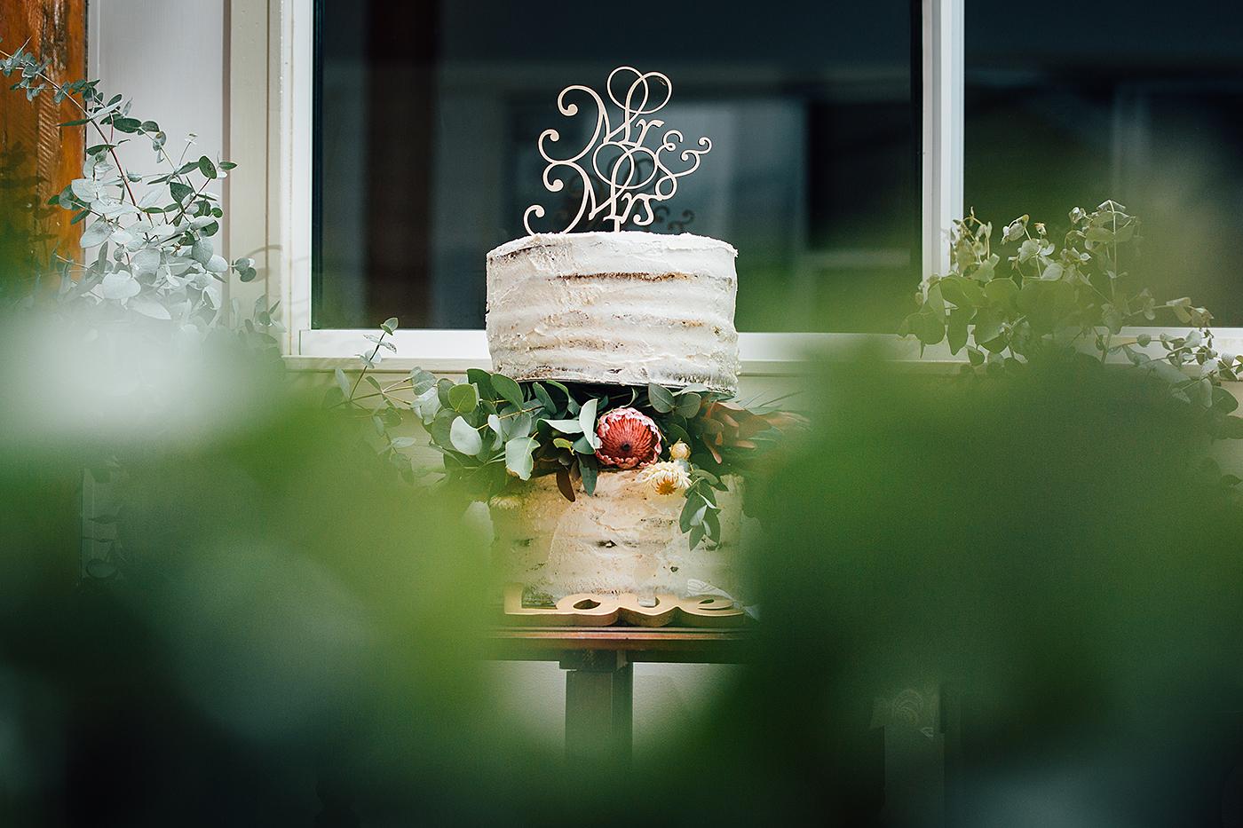 Kenilworth Homestead Wedding cake