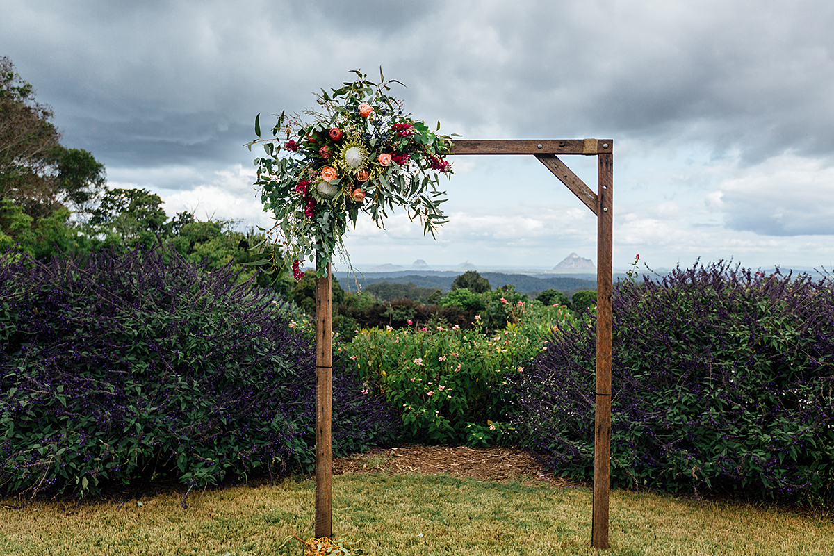 Maleny wedding photography arbour