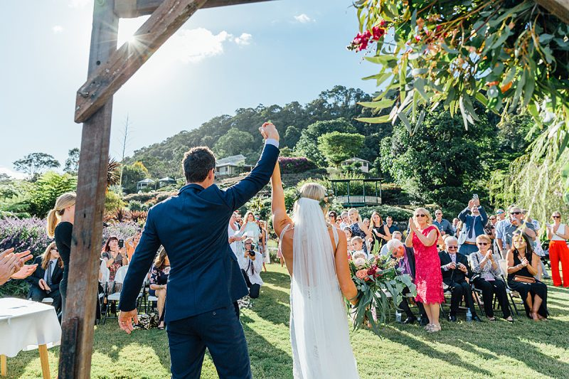 Maleny botanical gardens wedding photography