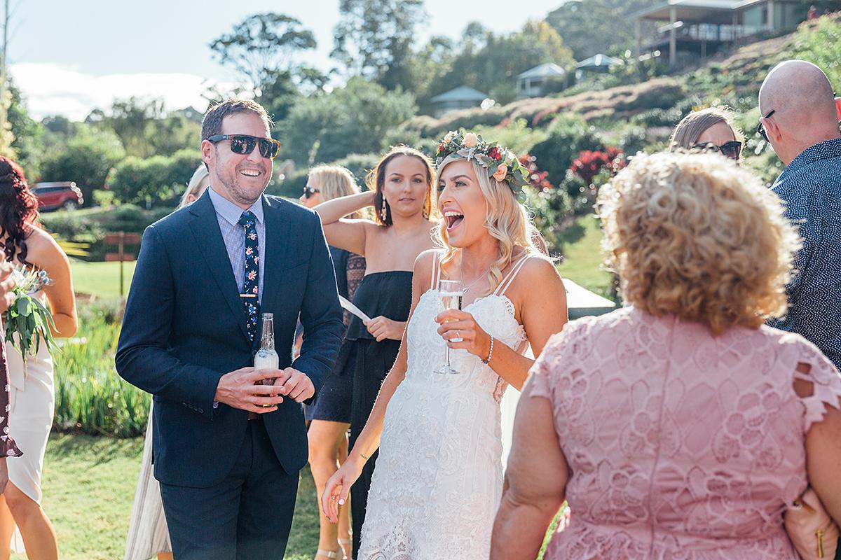 Maleny botanical gardens wedding photography