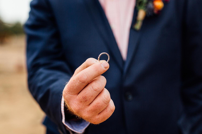 country nsw rusitc wedding photography wedding ring