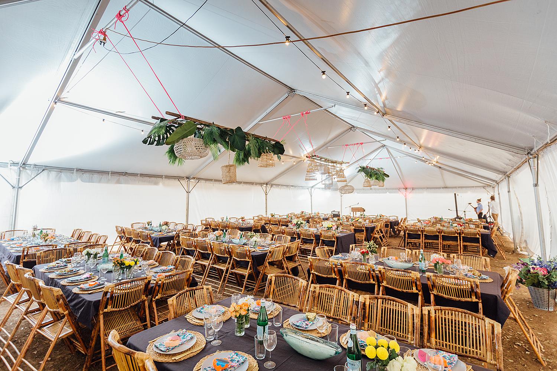 country nsw rusitc wedding photography reception setup