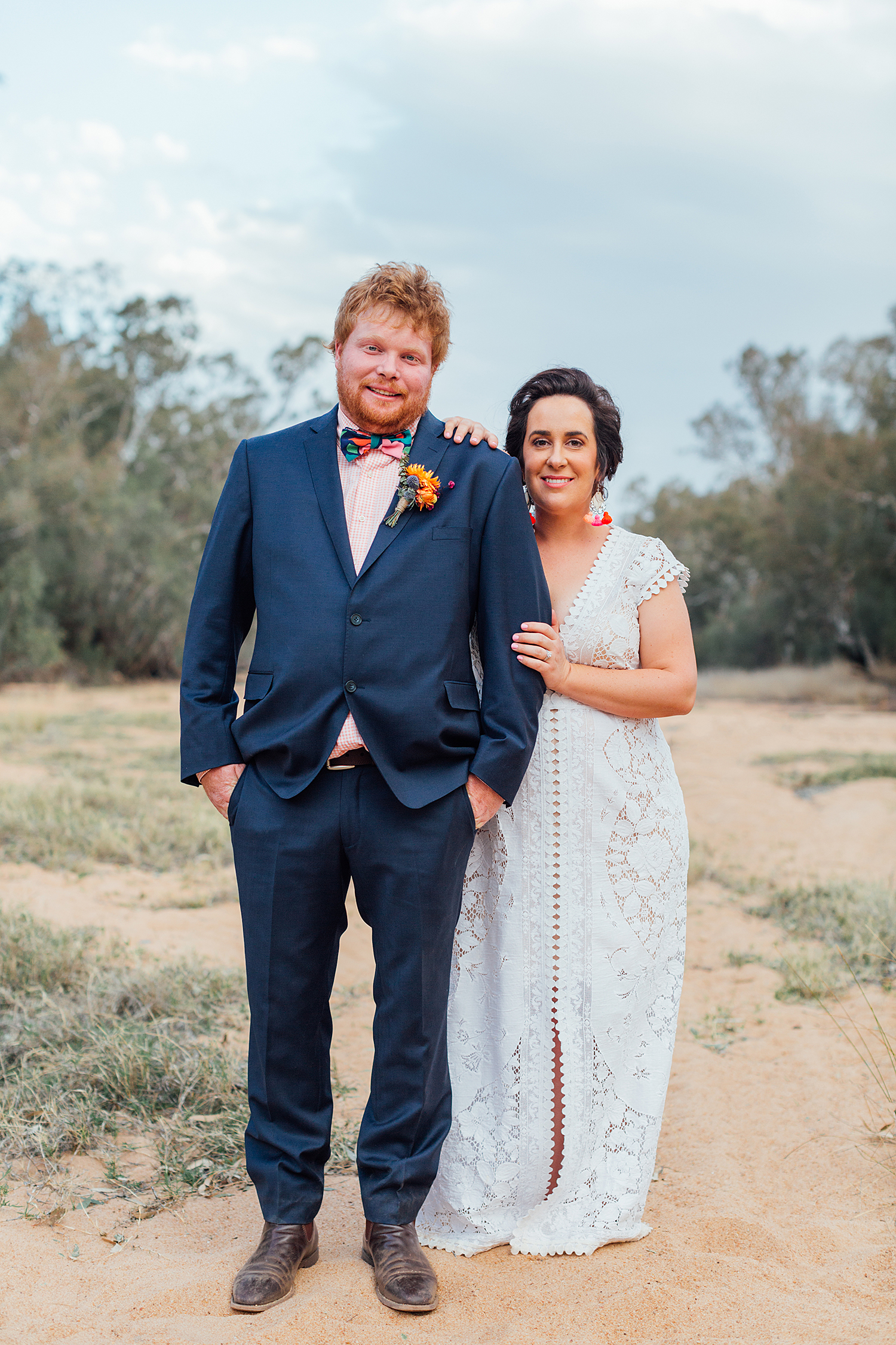 country nsw rusitc wedding photography bride and groom