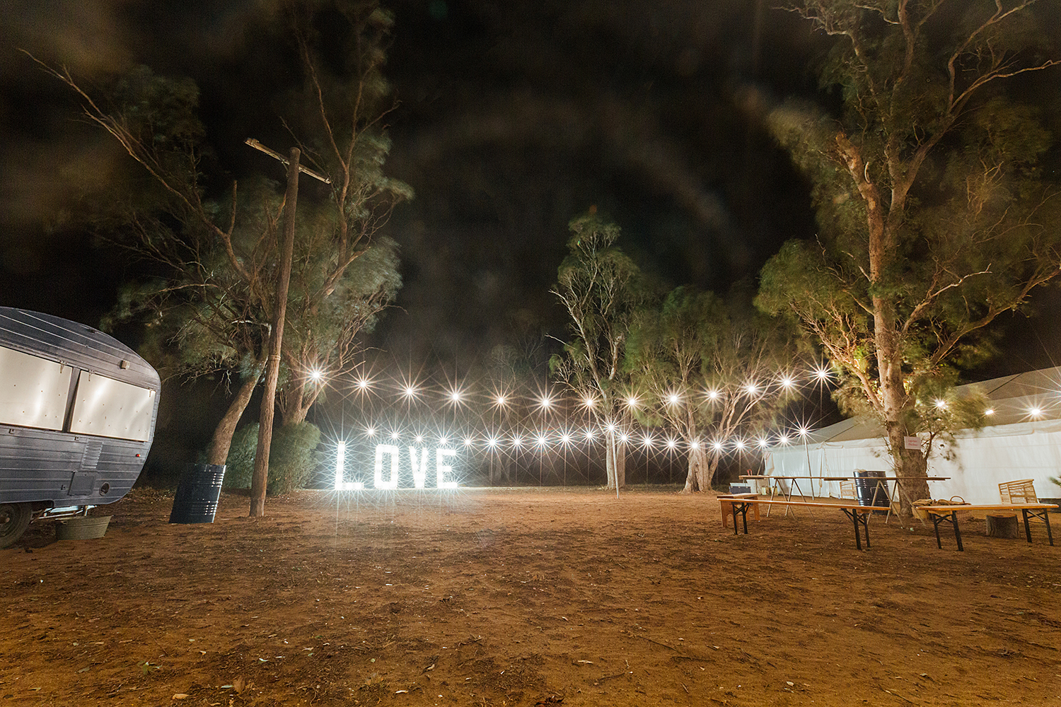country nsw rusitc wedding photography love sign