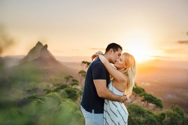 sunshine coast engagement photoshoot