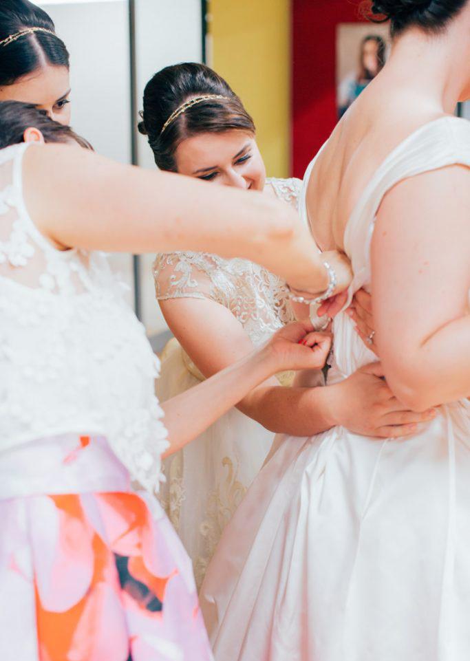 High Church Brisbane wedding photography bridesmaids