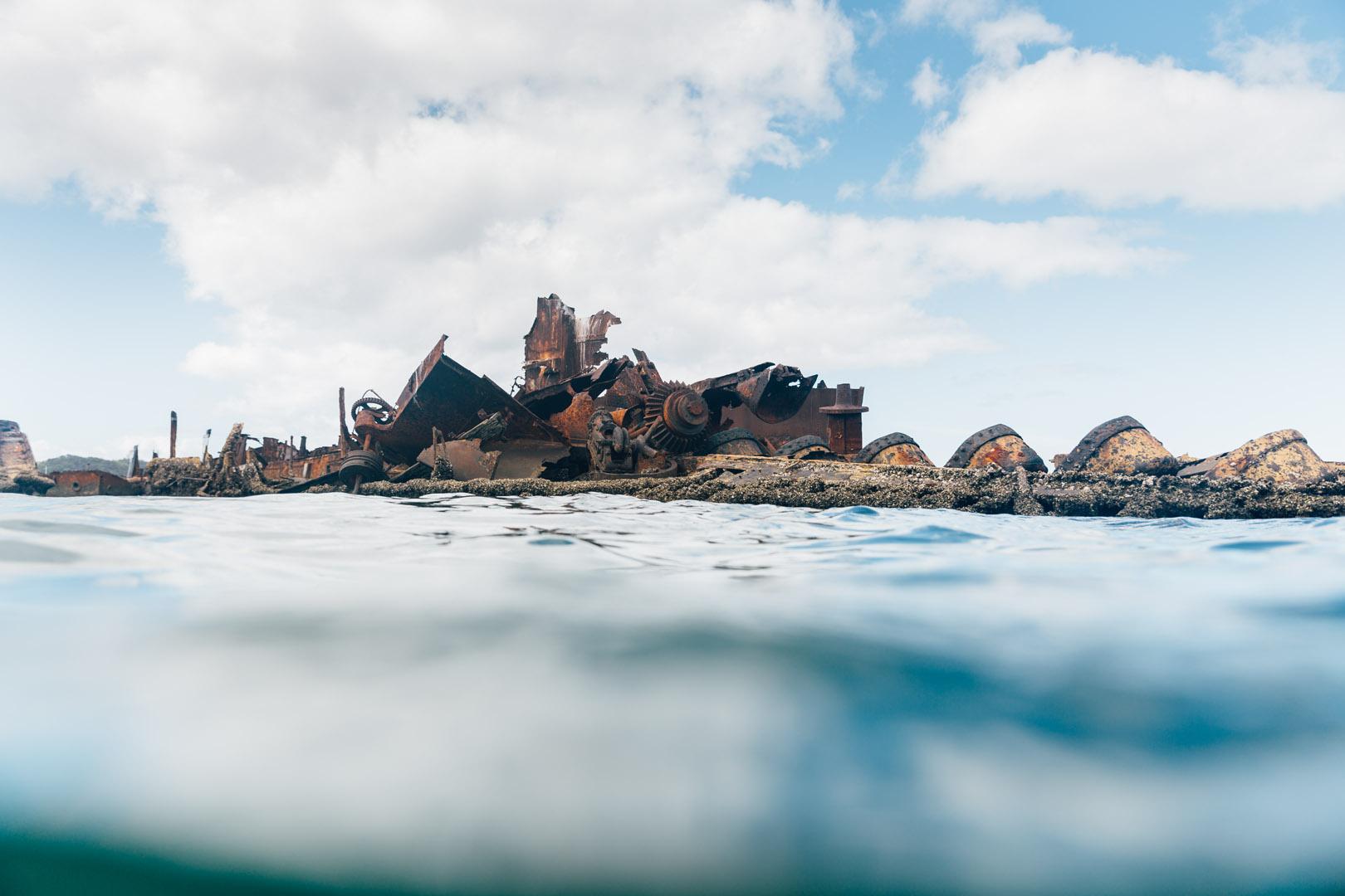 moreton island engagement photography