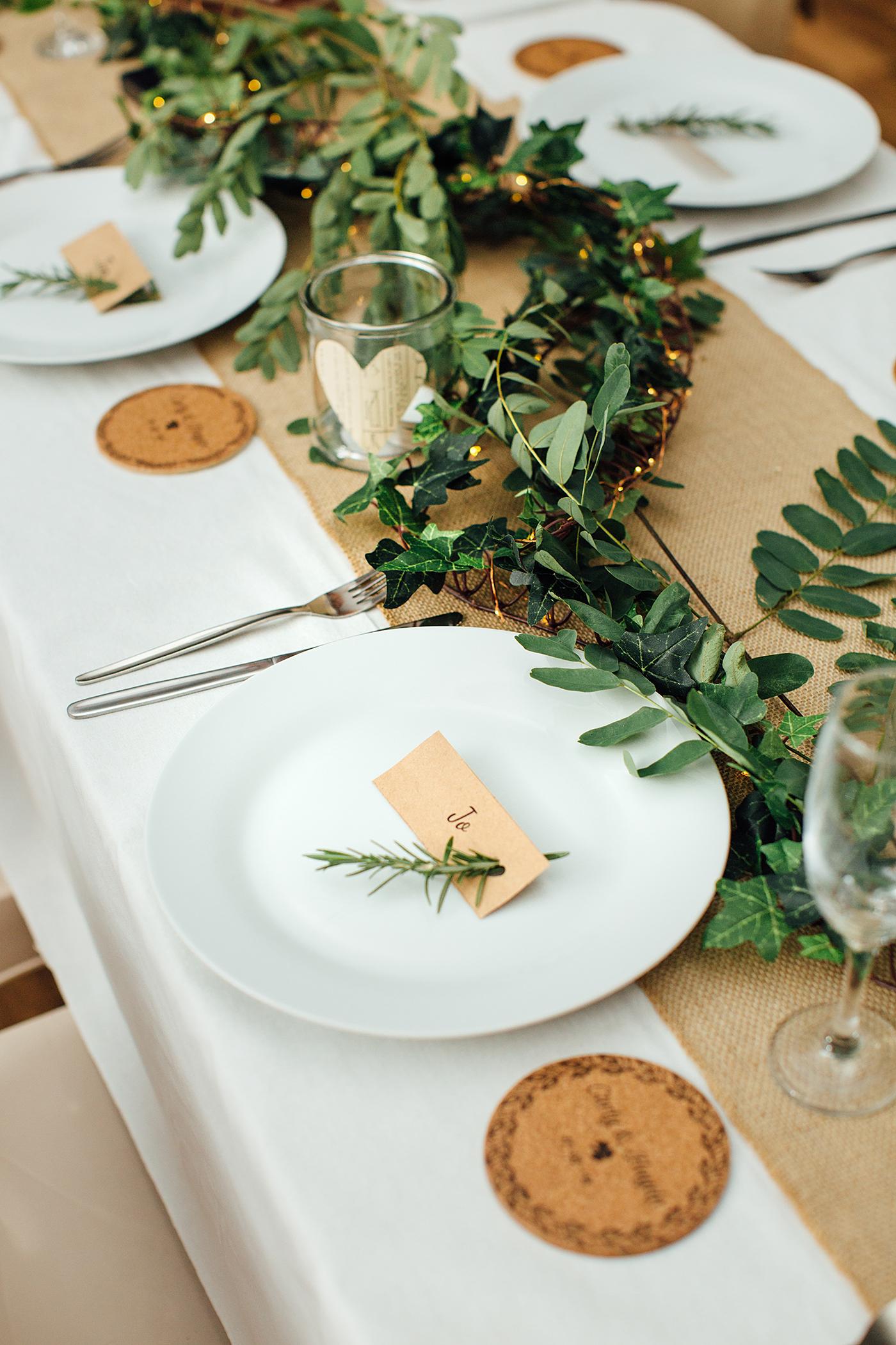 Kenilworth Homestead Wedding Reception set up