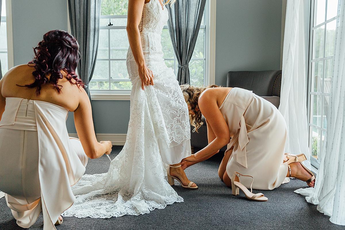 maleny botanical garden wedding photography dress