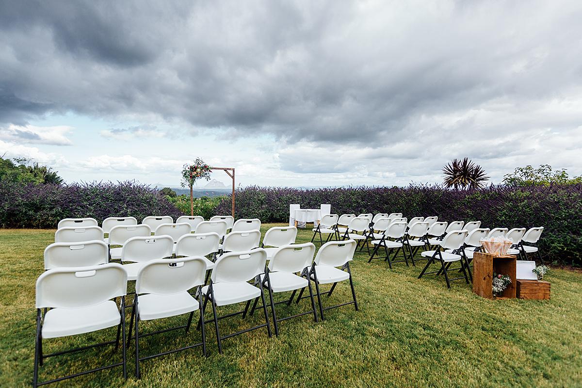 Maleny wedding photography ceremony