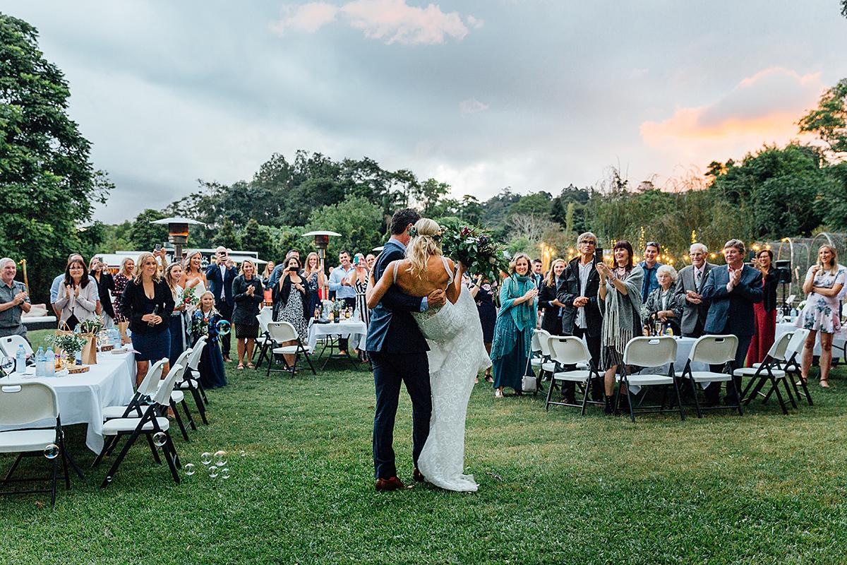 Maleny botanical garden wedding photography