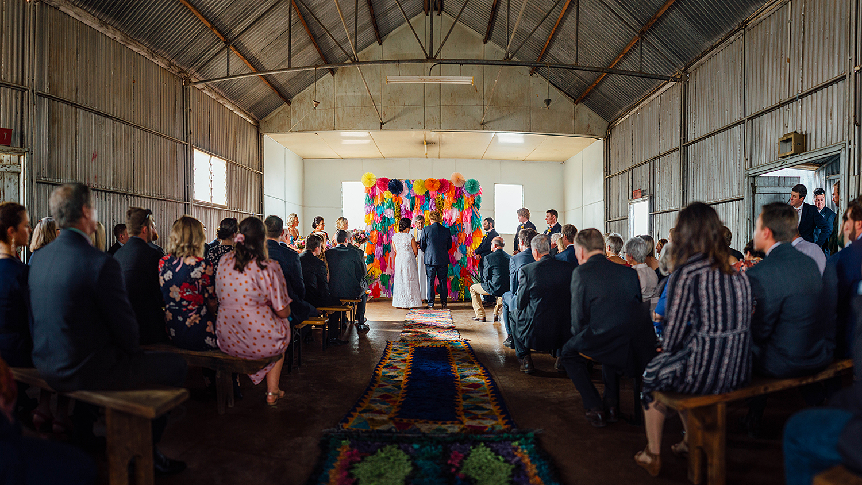 country nsw rusitc wedding photography ceremony