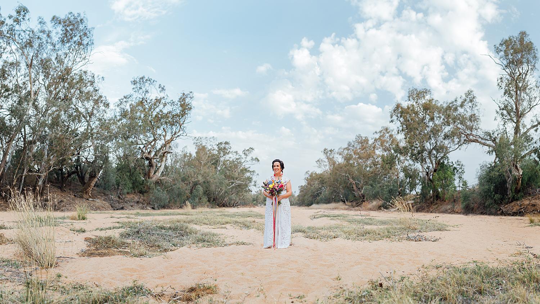 country nsw rusitc wedding photography bride portrait