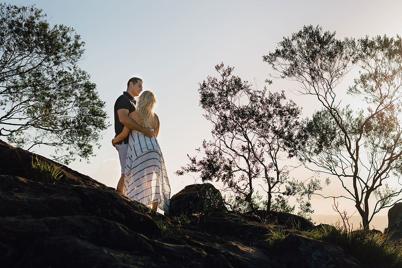 sunshine coast engagement photo shoot